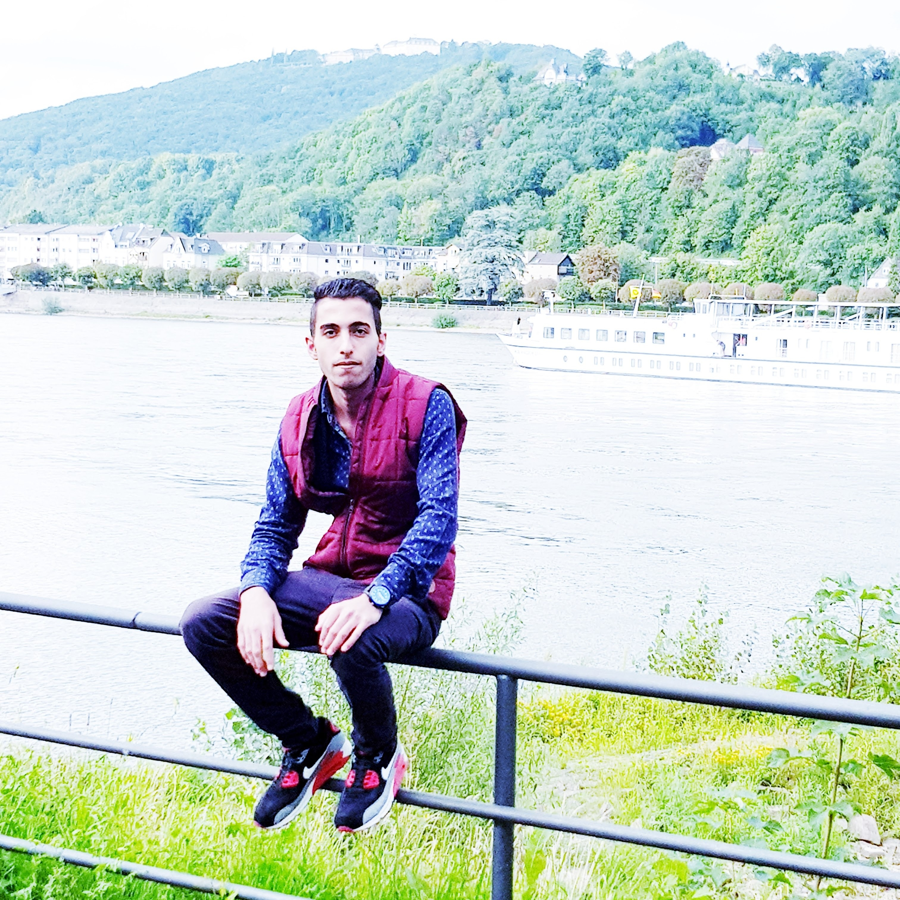 Video Call with Najmeddin